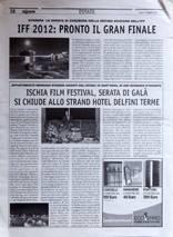 IFF 2012 - Serata di gala si chiude allo Strand Hotel Delfini Terme