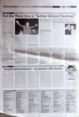 """Sal Da Vinci live a """"Ischia Global Festival"""""""