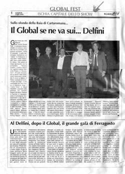Il Global se ne va sui...Delfini