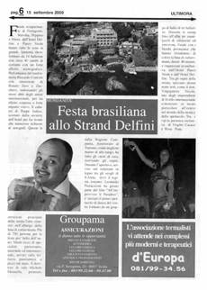 Festa Brasiliana all Strand Delfini