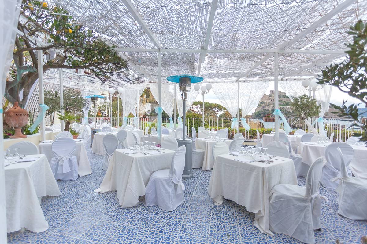 The Restaurant by the Swimming Pool
