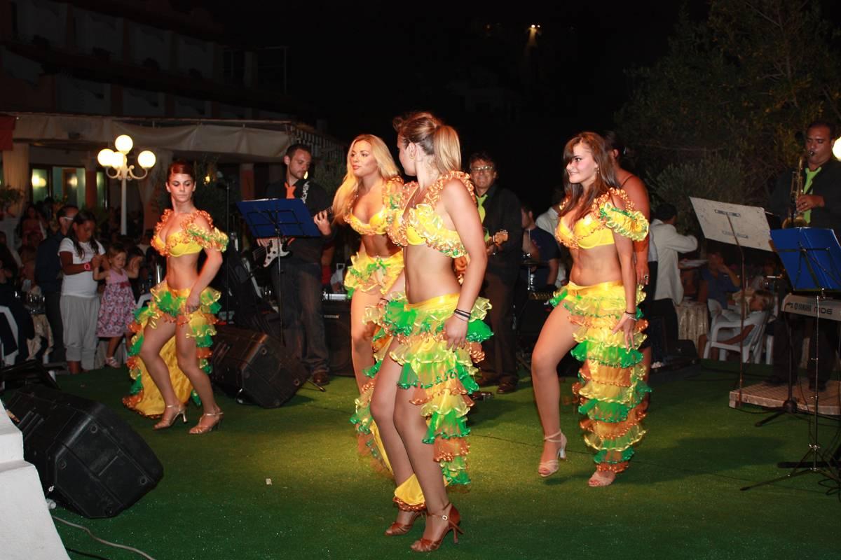 Gruppo di Ballo Latino-Americano allo Strand Hotel Delfini Terme di Ischia